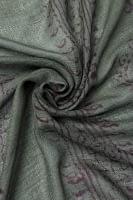(約180cm×40cm)インド薄ラムナミ(ロング) - ダークグリーン