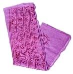 [約125cm×50cm]インド薄ラムナミ【小】 - 薄紫