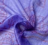 [約125cm×50cm]インド薄ラムナミ【小】 - 紫