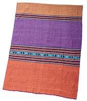 ベトナム ターイ族の伝統手織りスカーフ・デコレーション布(切りっぱなし)