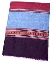 ベトナム ターイ族の伝統手織りスカーフ・デコレーション布(切りっぱなし)の商品写真
