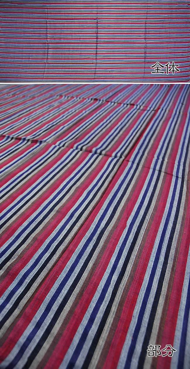 インド綿ストライプルンギーの写真1