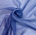 ガーゼ生地のグラデーション スカーフ【青】
