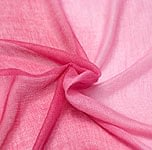 ガーゼ生地のグラデーション スカーフ【赤紫】