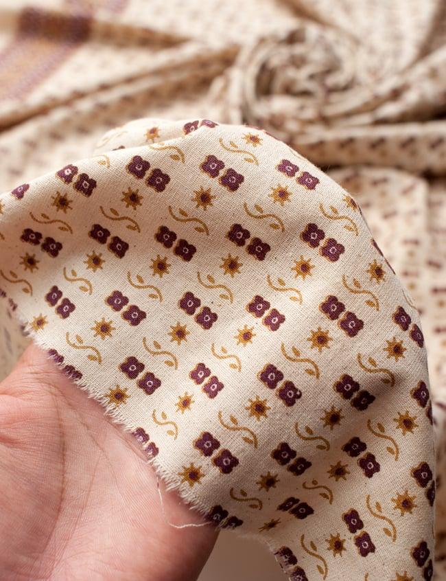 〔180cm*120cm〕インドの伝統柄 更紗模様プリント布の写真6 - 植物の息吹を感じる更紗模様や、インドの伝統模様などぬくもりのあるデザインです。