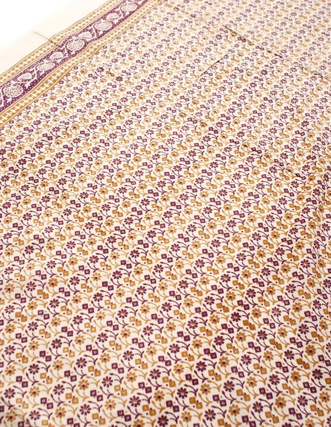 〔180cm*120cm〕インドの伝統柄 更紗模様プリント布の写真