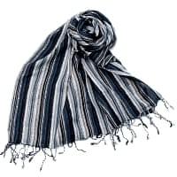 カラフルストライプスカーフ- -