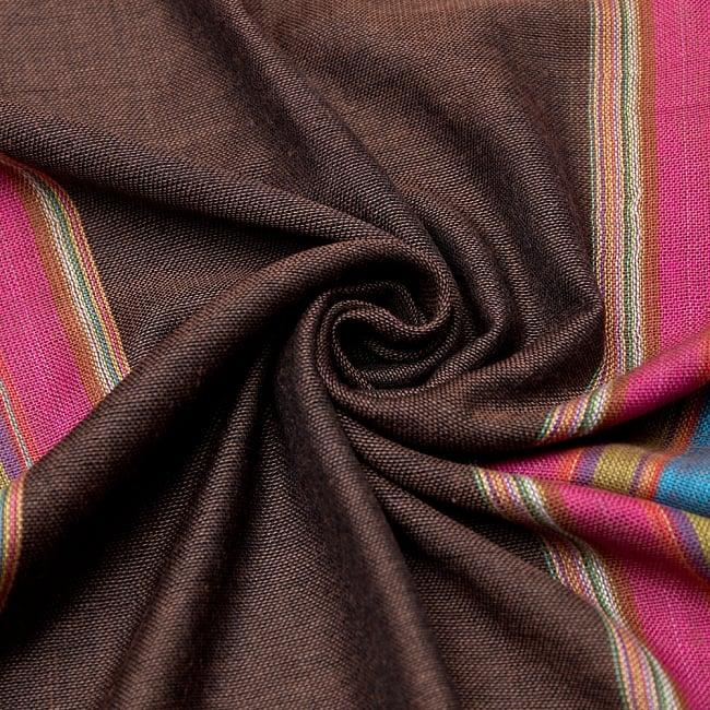 カラフルストライプスカーフ- 【アソート】の写真5 - 柔らかく気持ちの良い素材です