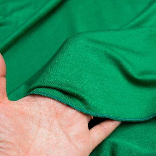 病みつきの履き心地!ロング ガウチョ パンツ 8 - 透け感はないので、安心です。