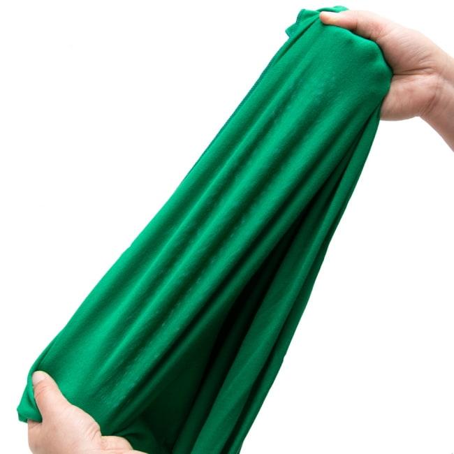 病みつきの履き心地!ロング ガウチョ パンツ 9 - 伸縮性もあり動きやすい!