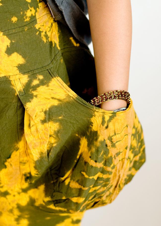 タイダイサルエルパンツの写真4 - ポケットもたっぷり入りそうな大きさです。