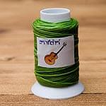 ワックスコード - 蝋引き紐 - 30g - 黄緑