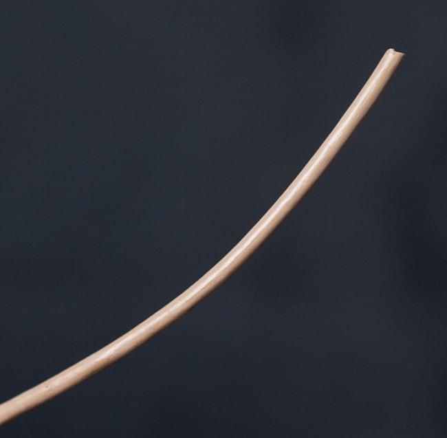 牛革紐 切り売り - 太さ:2mm [クリーム]の写真