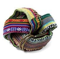 ネパール両面刺繍ベルト