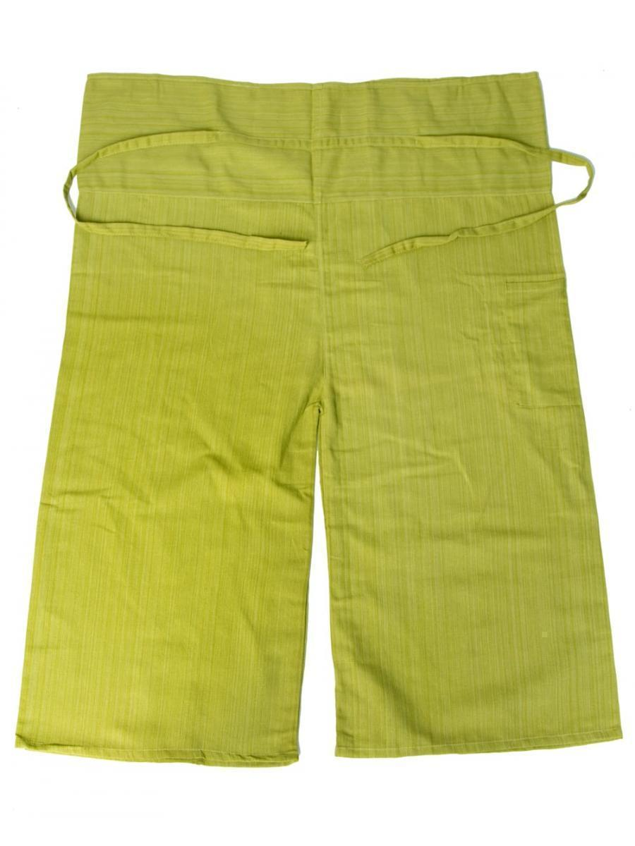 ストライプ織りのコットンタイパンツ 16 - 選択8:ライトグリーン