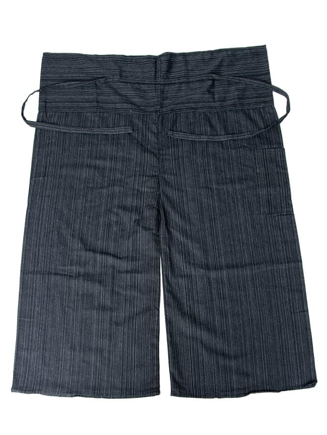 ストライプ織りのコットンタイパンツ 17 - 選択9:ブラック