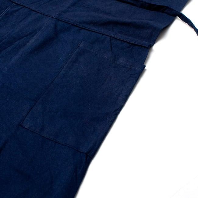 シンプルコットンタイパンツ 【水色】 5 - サイドにはポケットもあるので便利です。