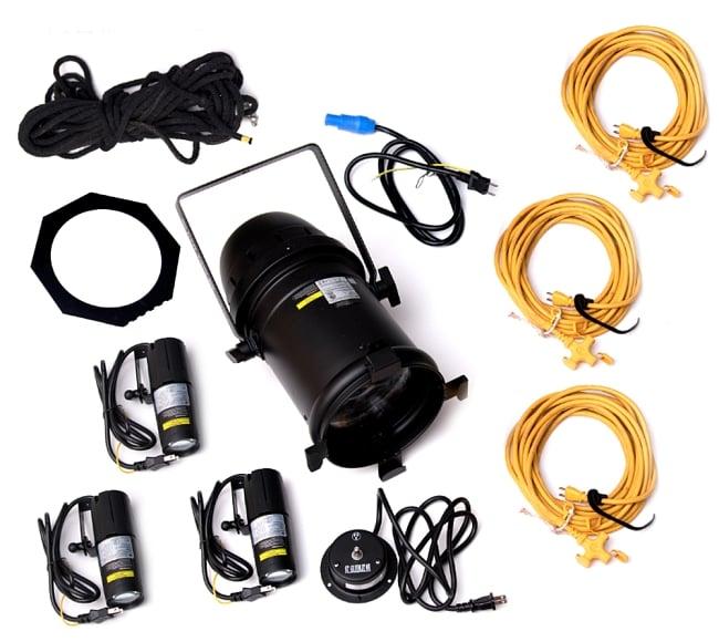 ミラーボール 照明&必要機材全部入りセット[レンタル]の写真