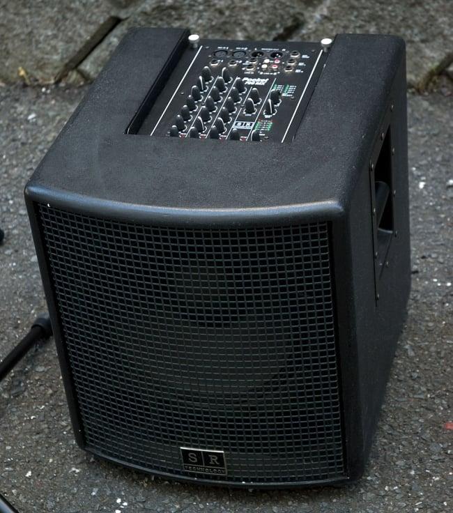 ライブ用 コンパクト PAセット フルセット[レンタル・片道送料込] 6 - 重低音が響くウーハーです