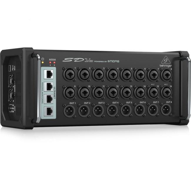 SD16 16in/8out デジタルステージボックス - BEHRINGER ( ベリンガー )[レンタル・片道送料込] 3 -