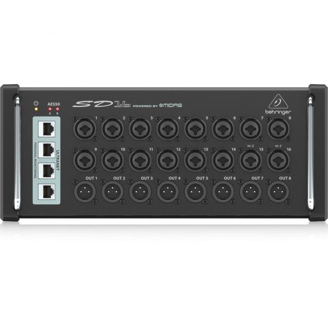 SD16 16in/8out デジタルステージボックス - BEHRINGER ( ベリンガー )[レンタル・片道送料込]の写真