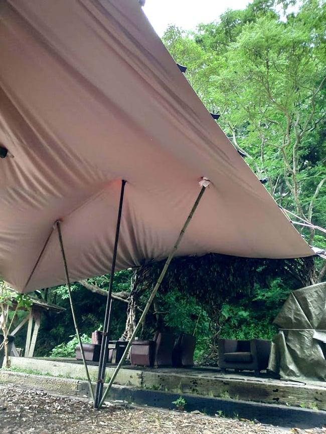 ストレッチテント 野外フェス イベント タープ【8m x 6m】【納期45日】 3 - 別のアングルから