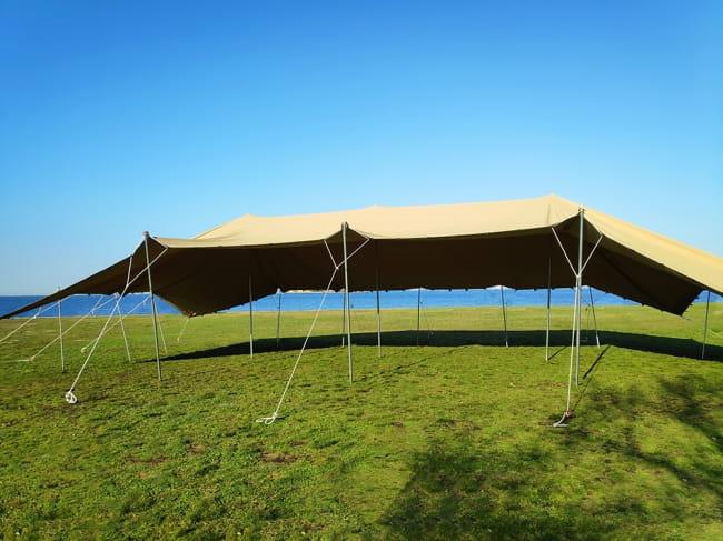 ストレッチテント 野外フェス イベント タープ【15m x 8m】【納期45日】の写真