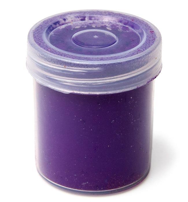 ホーリーの色粉12色セット[ボトル入り各40g] 2 - 一個一個はプラスチックのパッケージに入っています