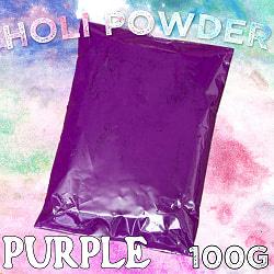 ホーリーの色粉 100gパック - パープル