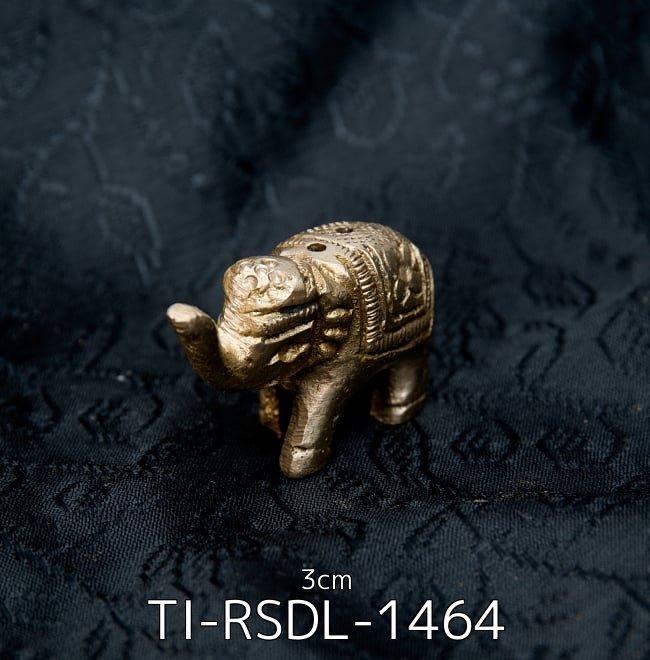【選べる6個セット】インドのミニミニ神様像[3cm] 3 - ぞうさん - ミニミニ神様像[3cm](TI-RSDL-1464)の写真です