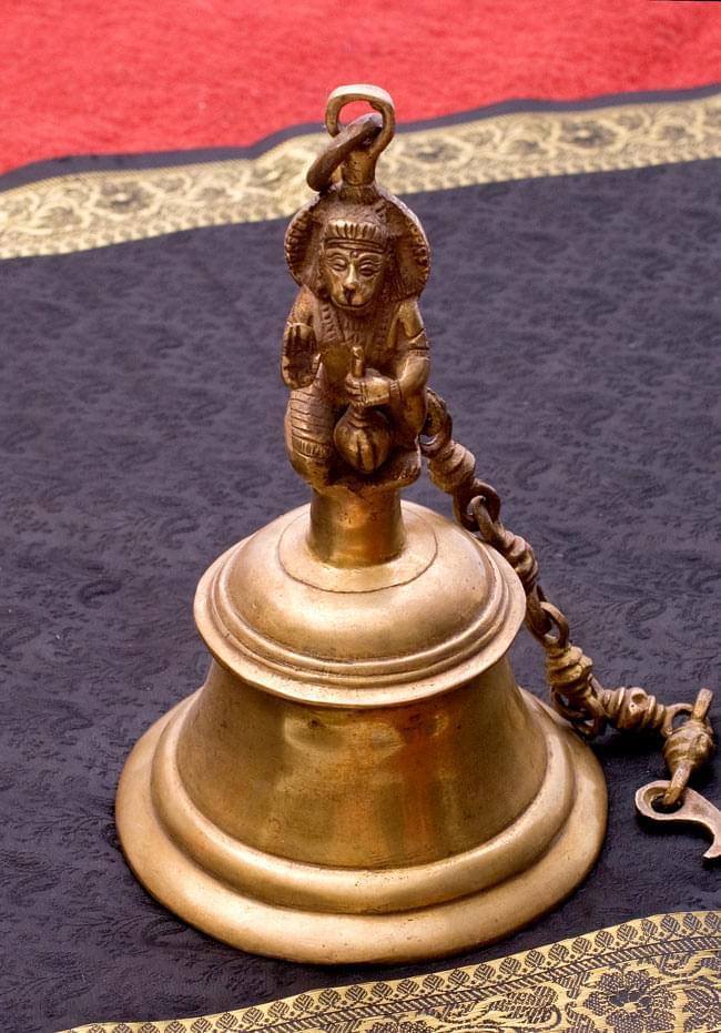 寺院の鐘 - ハヌマーン【一点もの】の写真
