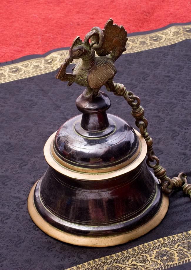 寺院の鐘 - 孔雀【一点もの】の写真