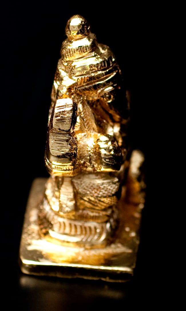 輝くゴールデンガネーシャ像【5cm】の写真3 -