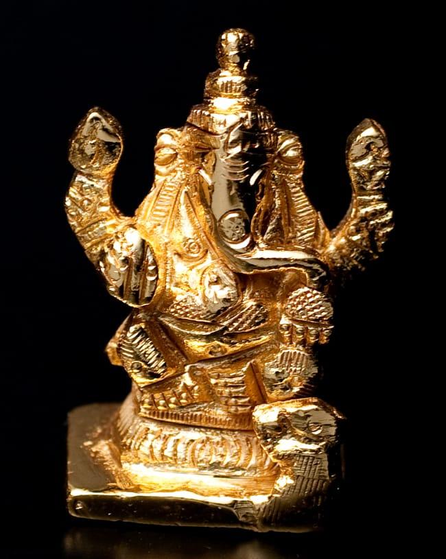 輝くゴールデンガネーシャ像【5cm】の写真