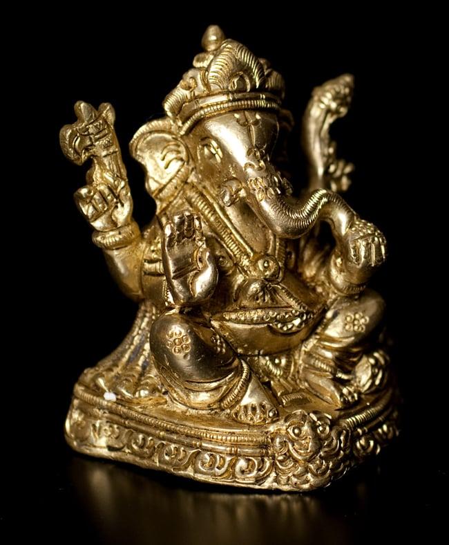 ブラス製 ガネーシャ像〔8cm〕の写真