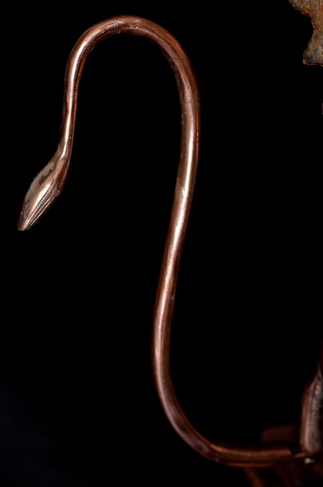 ハヌマーン像 立派な尻尾付き【63cm】 9 - 存在感のある神像です。