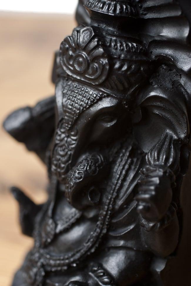 トゥースガネーシャ ブラック[21cm]の写真4 - 細部を見てみました。