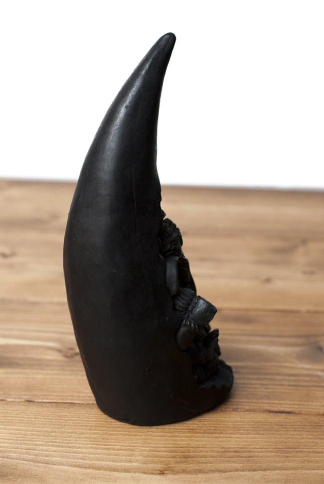 トゥースガネーシャ ブラック[21cm]の写真6 - 背面はこのような様子です。