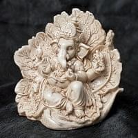 リーフガネーシャ ホワイト[11cm]