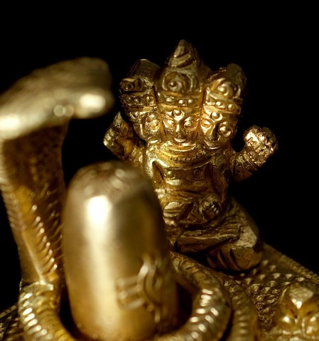 リンガとヨニ 神様たち[6cm]の写真5 - こちらはブラフマー