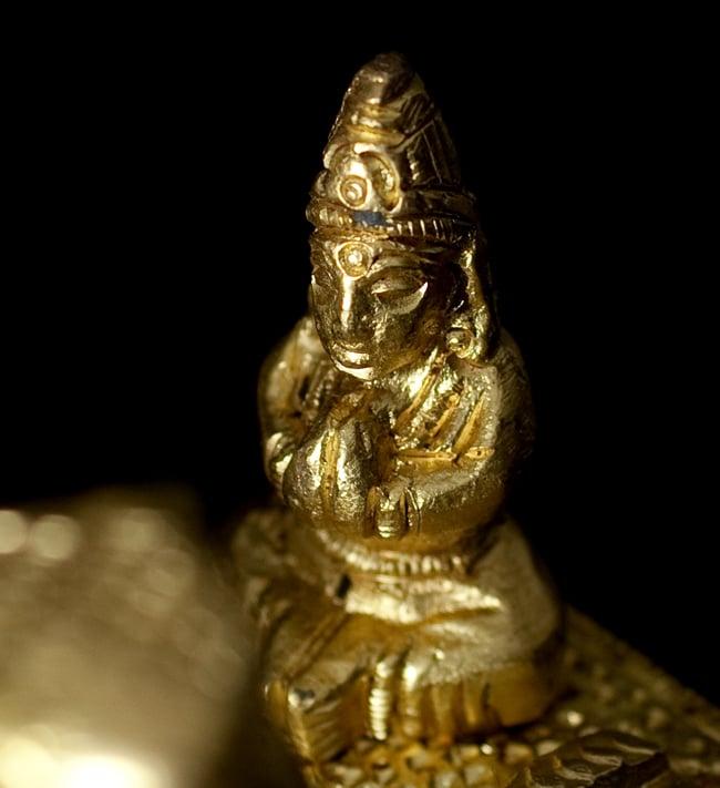 リンガとヨニ 神様たち[6cm]の写真6 - ヴィシュヌです