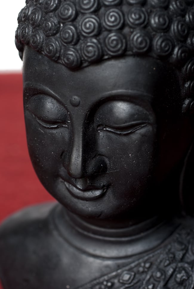 ブッダ・ヘッド ブラック [28.5cm]の写真2 - 美しい顔立ちです。