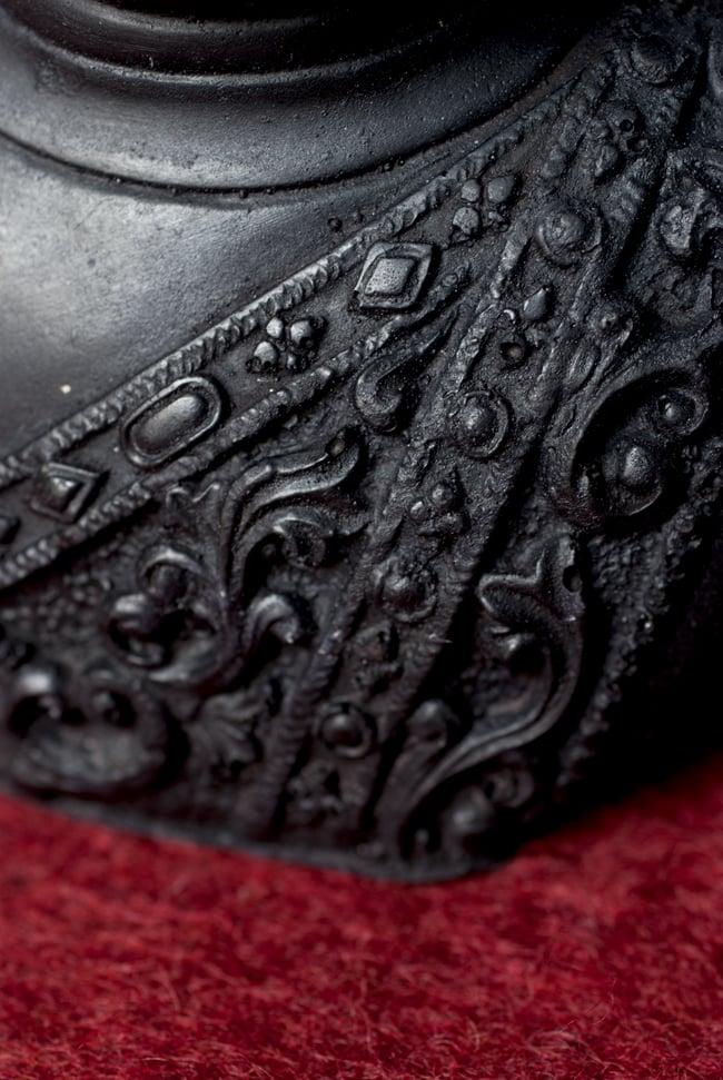 ブッダ・ヘッド ブラック [28.5cm]の写真4 - 細部を見てみました。