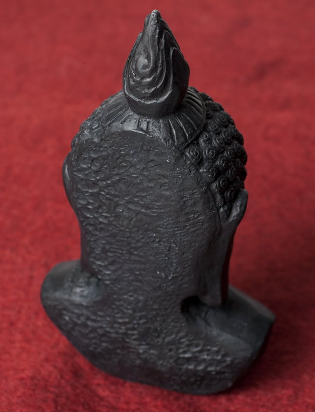 ブッダ・ヘッド ブラック [28.5cm]の写真6 - 背面はこのような様子です。