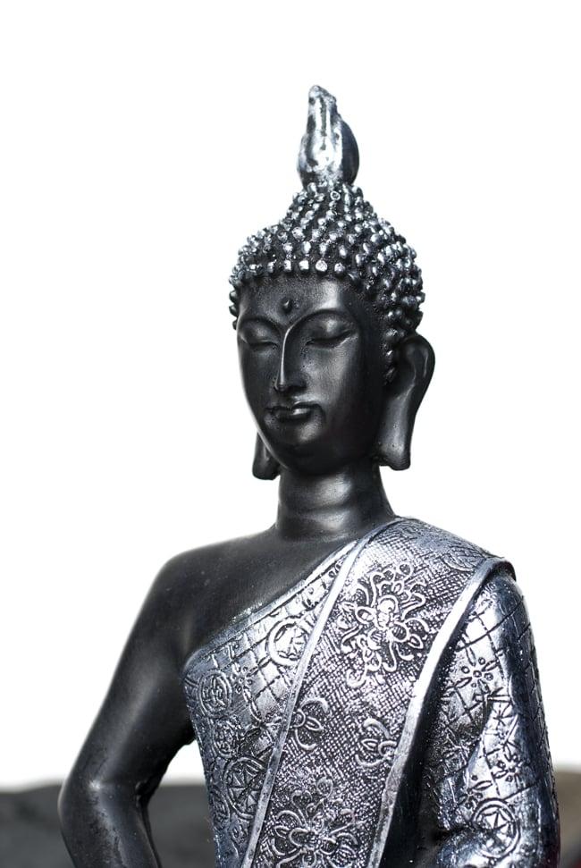 【ちょっと訳あり】ヒストリーブッダ[28cm] 10 - 選択3:銀と水色