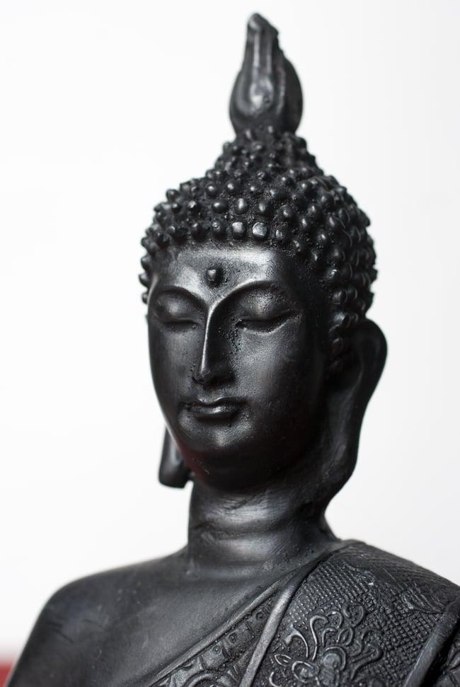 ブッダ ブラック[29cm]の写真2 - 美しい顔立ちです。