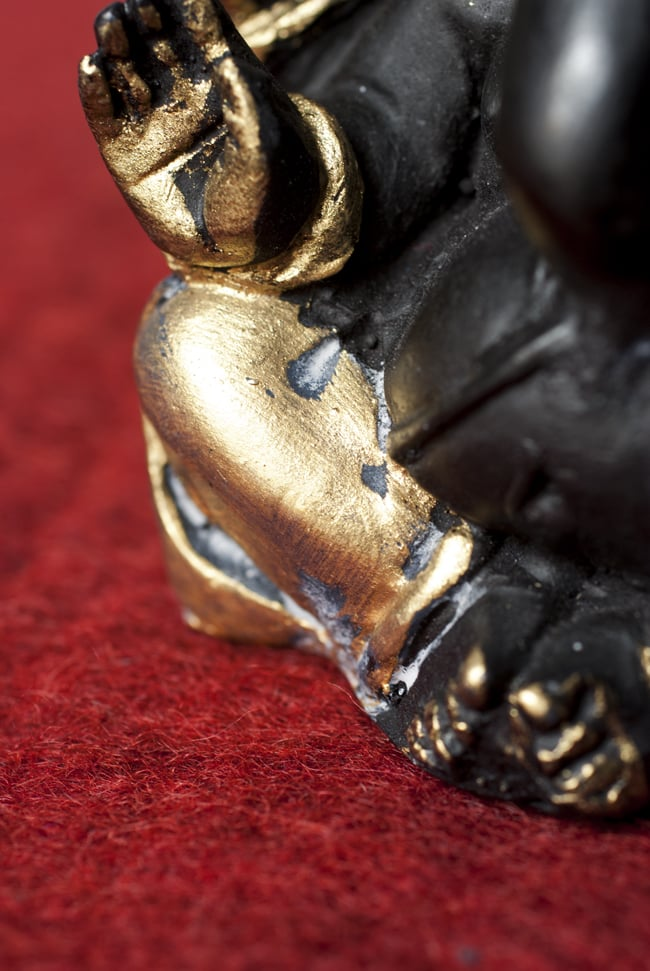 ラッドゥガネーシャ[11.5cm]の写真9 - 選択2:金