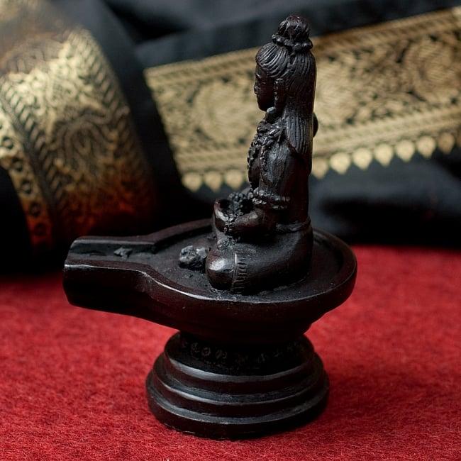 シヴァリンガ像[11.7cm]の写真2 - 横からの写真です