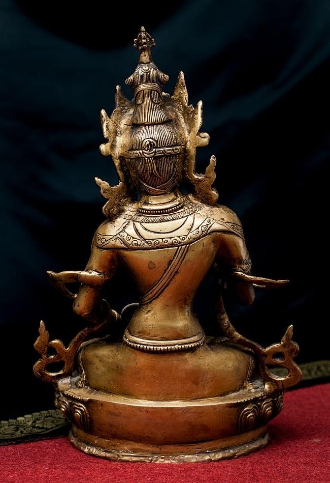 ヴァジュラ・サットゥヴァ −金剛薩た - 22cm 8 - 背面からの様子です。