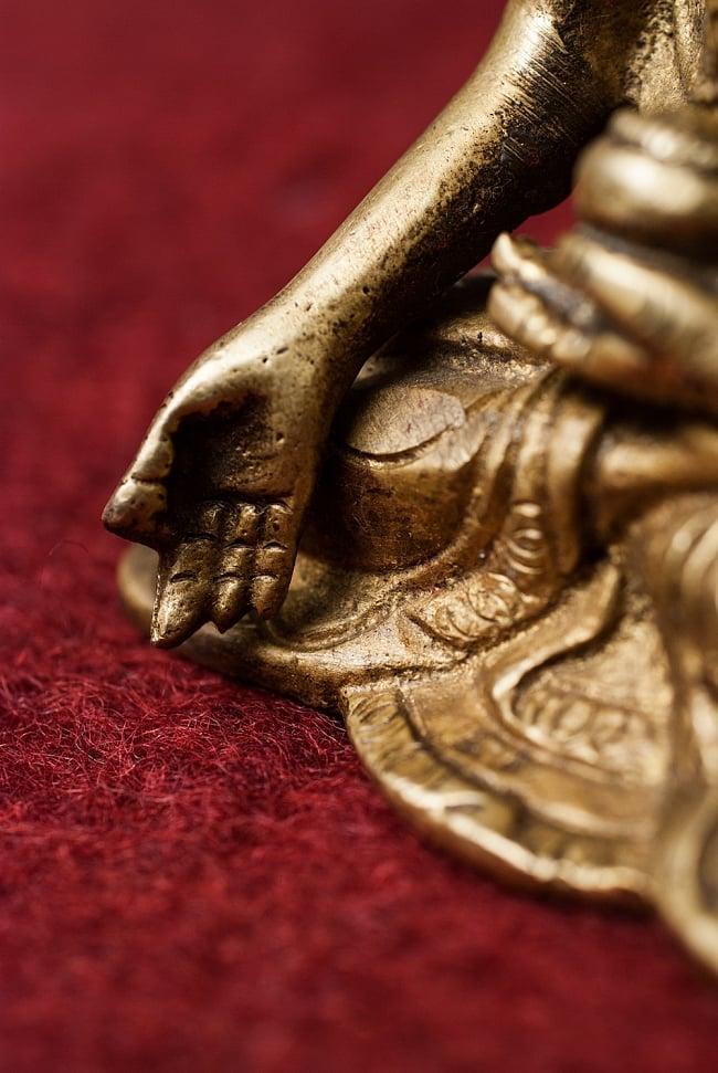 仏陀 - 12cmの写真6 - 細部も細かに作り込まれています。